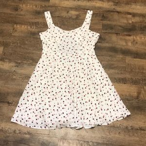 LC Lauren Conrad Disney Minnie Mouse White Dress